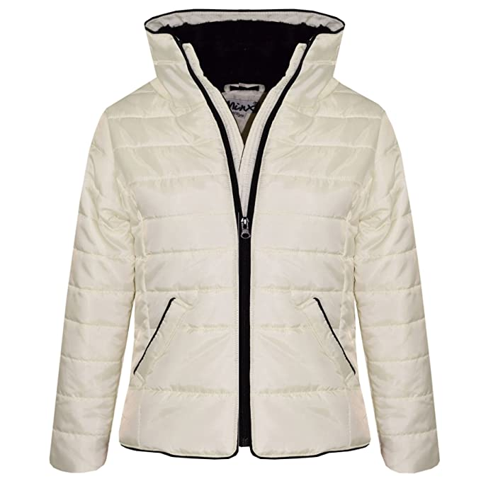 625f0f669 Amazon.com  A2Z 4 Kids® Girls Jacket Kids Padded Puffer Bubble Faux ...