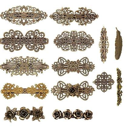 Frauen Braut Blume Headwear Strass Haarspange Kristall Haarspange Bobby Pin—w*e