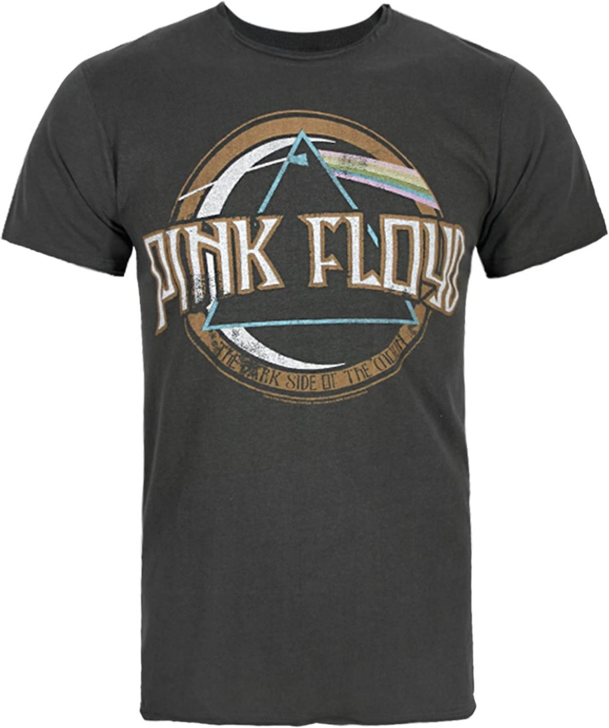 Amplified pink floyd on the run hommes charbon t-shirt