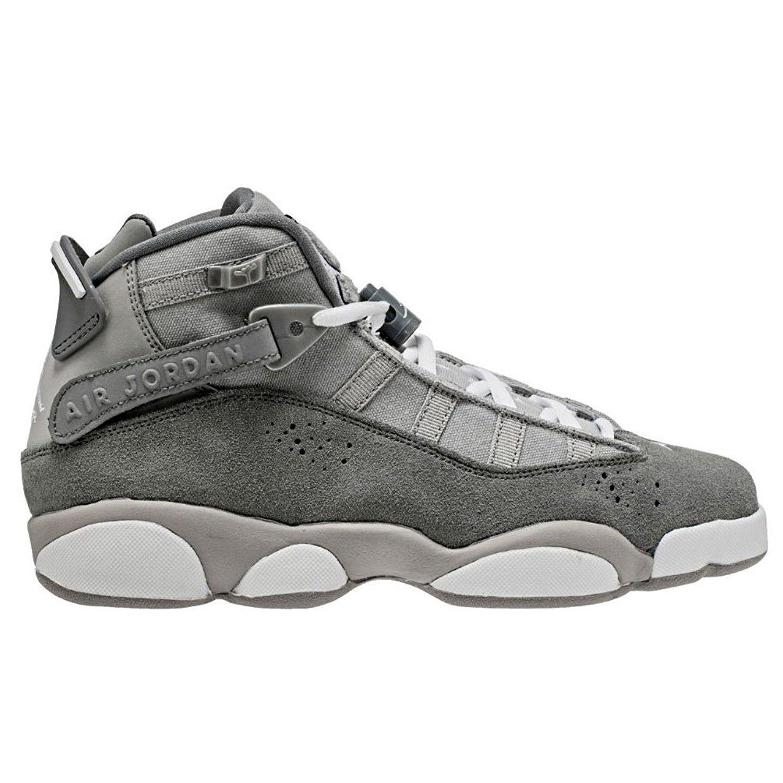 Jordan 6 Rings Boys' Grade School Basketball Shoes 323419 014 (7)