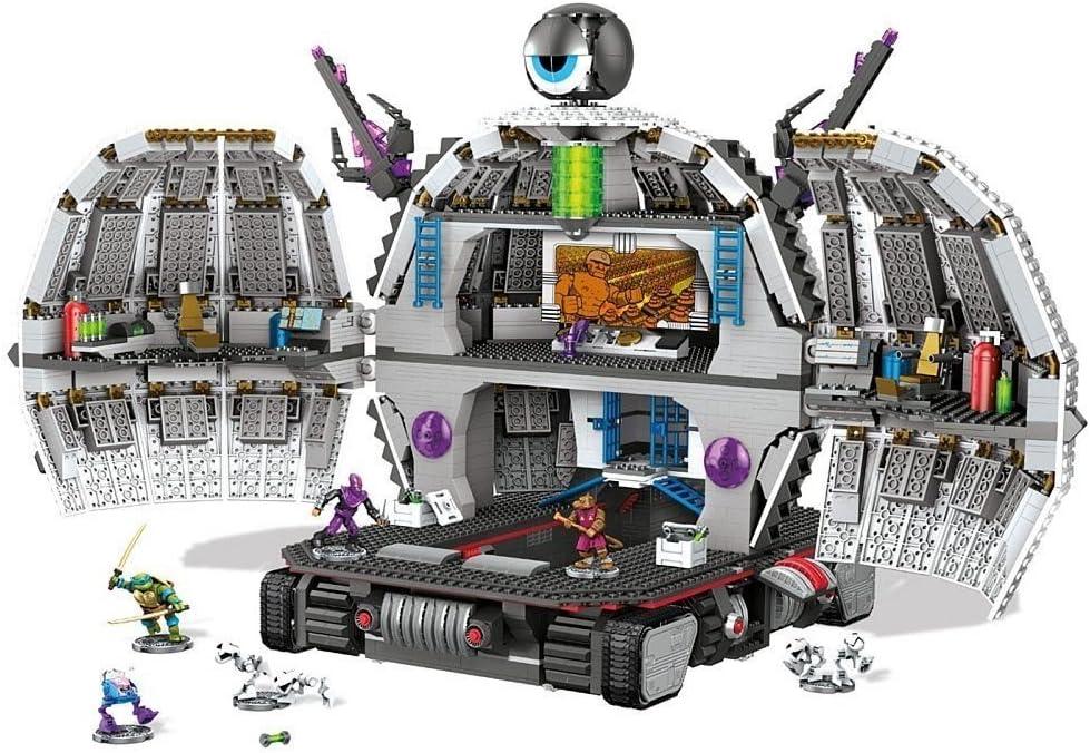 Mega Bloks Teenage Mutant Ninja Turtles TMNT Exclusive Technodrome Set 31501