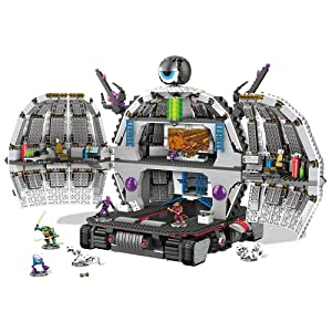 Mega Bloks Teenage Mutant Ninja Turtles TMNT Exclusive Technodrome Set 31501