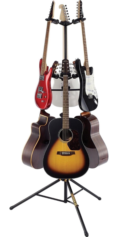hercules gs526b guitar stand for 6 guitars hercules stands. Black Bedroom Furniture Sets. Home Design Ideas