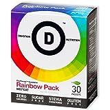 Devotion Nutrition Flex Flavors Stevia Instant Flavoring, Rainbow Pack, Zero Calories, Sugar Free, 30 Count