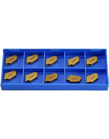 10 PCS RISHET TOOLS SPU 422 C5 Multi Layer TiN Coated Carbide Inserts