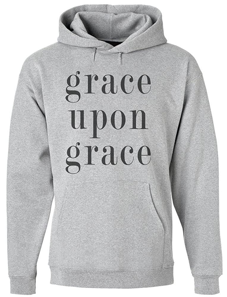 Grace Upon Grace Mens Hoodie Pullover