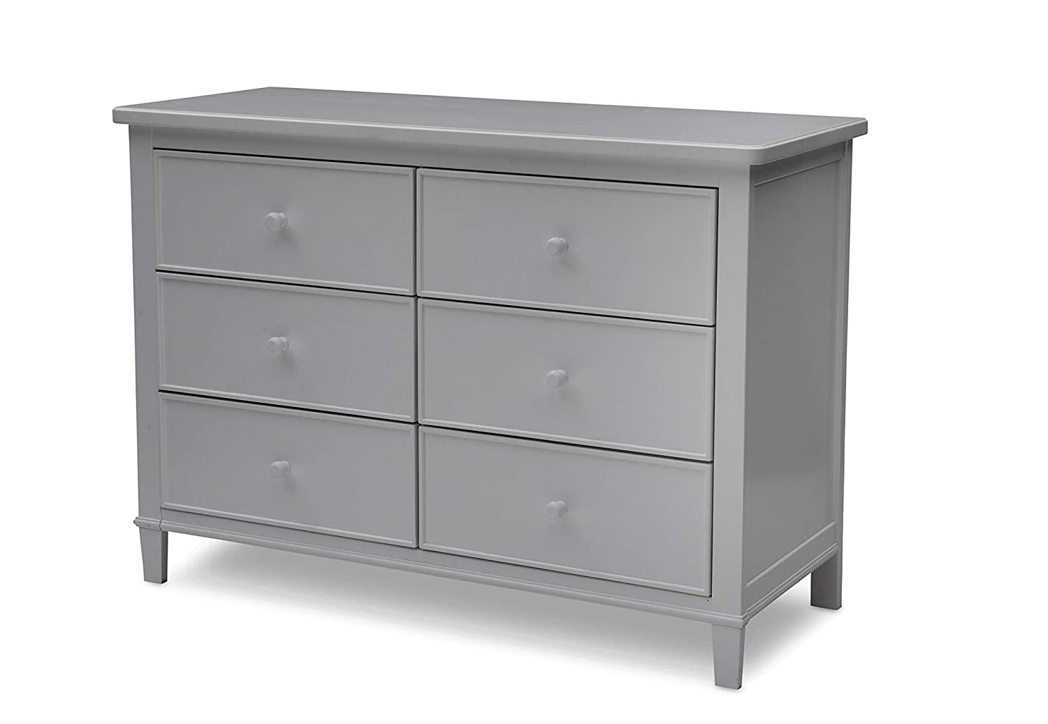 Delta Children Haven 6 Drawer Dresser, Grey