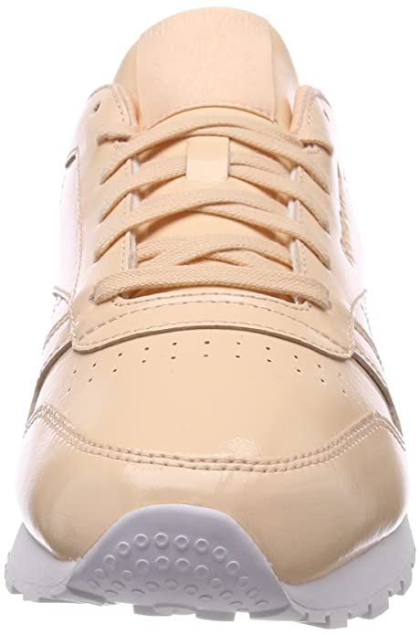 Leather Baskets Reebok Femme Chaussures Patent Classic pvqwqxOT