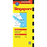 Periplus Travel Map Singapore: Island & City Map