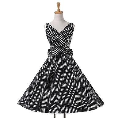 cfae76629c2 Rising ON Womens Summer Dresses 2017 Women Maggie Tang 50s 60s Robe Vintage  Retro Pin Up