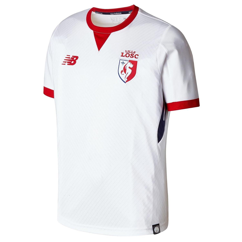 brand new 87737 22f86 New Balance Lille OSC 17/18 Away S/S Replica Football Shirt ...