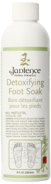 Jadience Detox Foot Bath for Foot Spa - Stress Relief, Anxiety, Headaches, Restless Legs & Sore Feet | 8oz | 4-8 Treatments Jadience Herbal Formulas