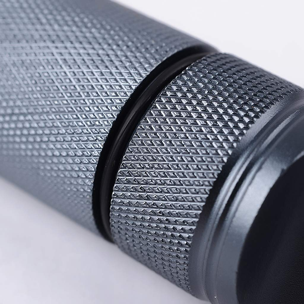Noir MagiDeal Bouteille Bo/îte de R/éservoir Rangement en Aluminium Etanche Survie Ext/érieur