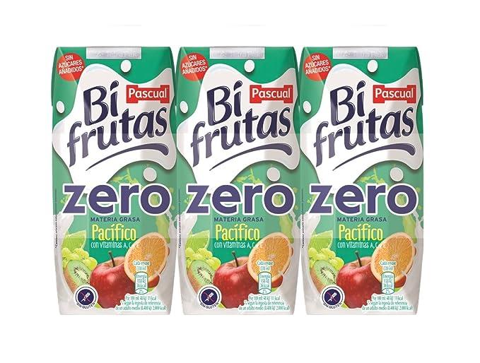 Bifrutas - Zumo de frutas pacífico y leche- 3 x 330 ml - [Pack