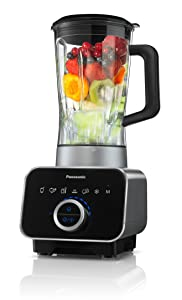 Panasonic MX-ZX1800 High Speed Blender with Ice Jacket Accessory, Die Cast Aluminum