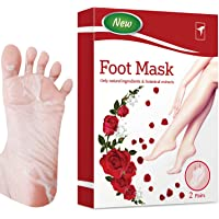 TOTCLEAR Exfoliating Foot Peel Mask for Softer, Smooth Feet- Gently Peel Away Calluses & Dead Skin, Repair Rough Heels…