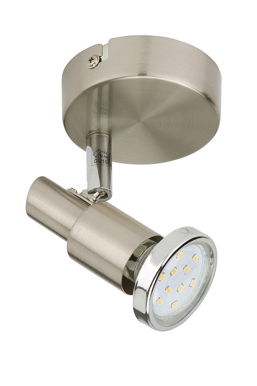 Briloner Leuchten LED Wandleuchte Wandlampe Deckenleuchte Deckenlampe Strahler Spot Wohnzimmerlampe Deckenstrahler Wandstrahler Deckenspot