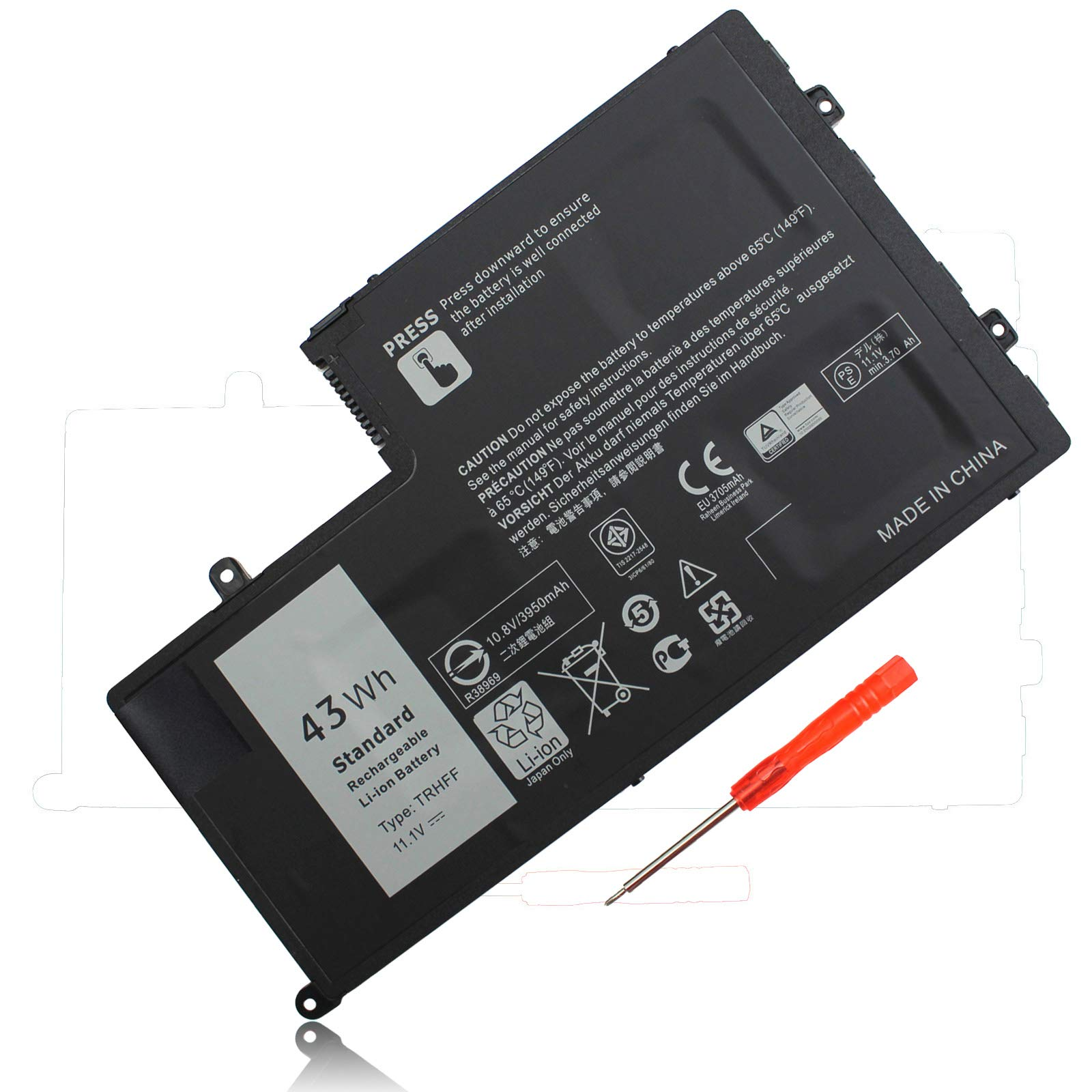 Bateria 11.1V 43Wh TRHFF Dell Inspiron 15 5547 5548 5557 554