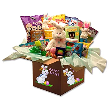Amazon easter gift family fun easter activity and snack gift easter gift family fun easter activity and snack gift care package negle Choice Image