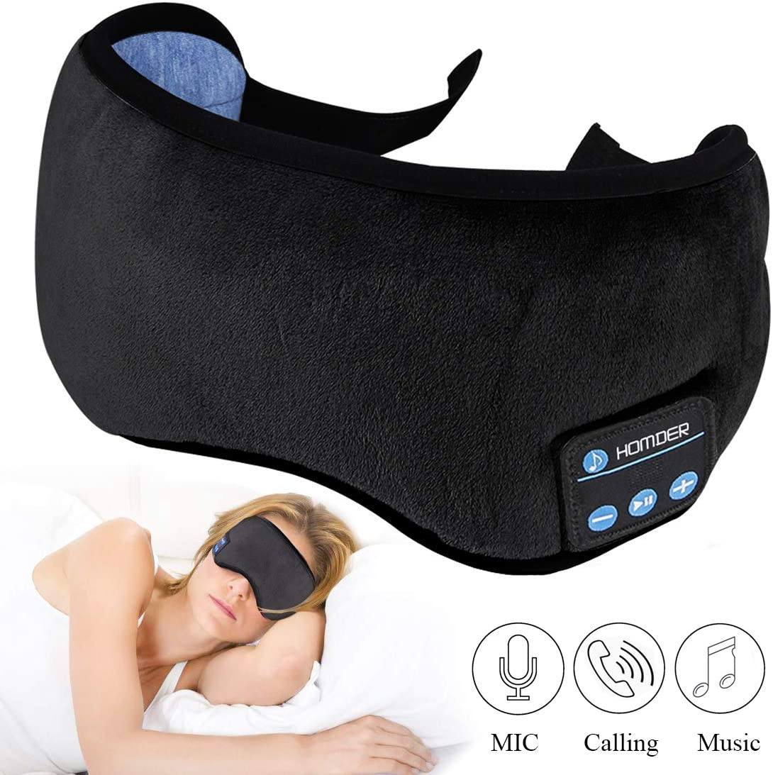 Homder Sleep Headphones Bluetooth 5.0 Eye Mask