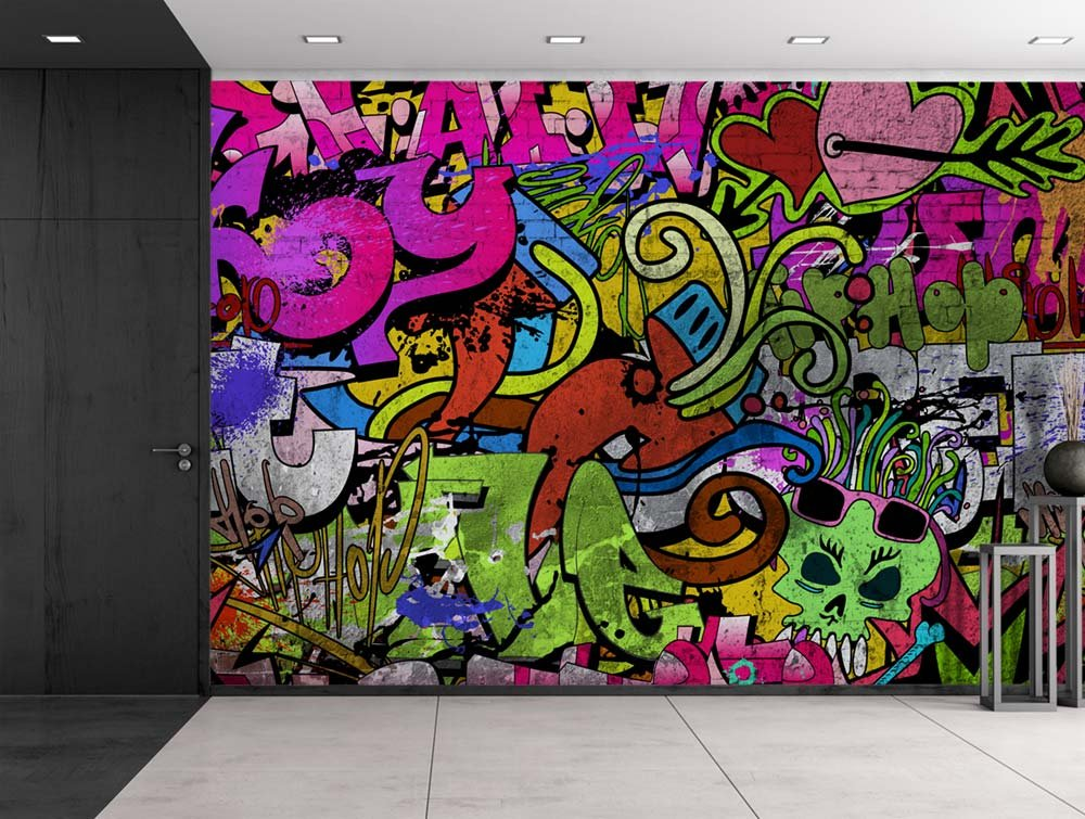 Colorful Graffiti Large Wall Mural Removable Peel And. Collection Lettering. Motivation Lettering Lettering. Mural Wallpaper Murals. Zeus Murals. Inch Decals. Ford Vintage Decals. Oddly Signs Of Stroke. Street Chicago Murals