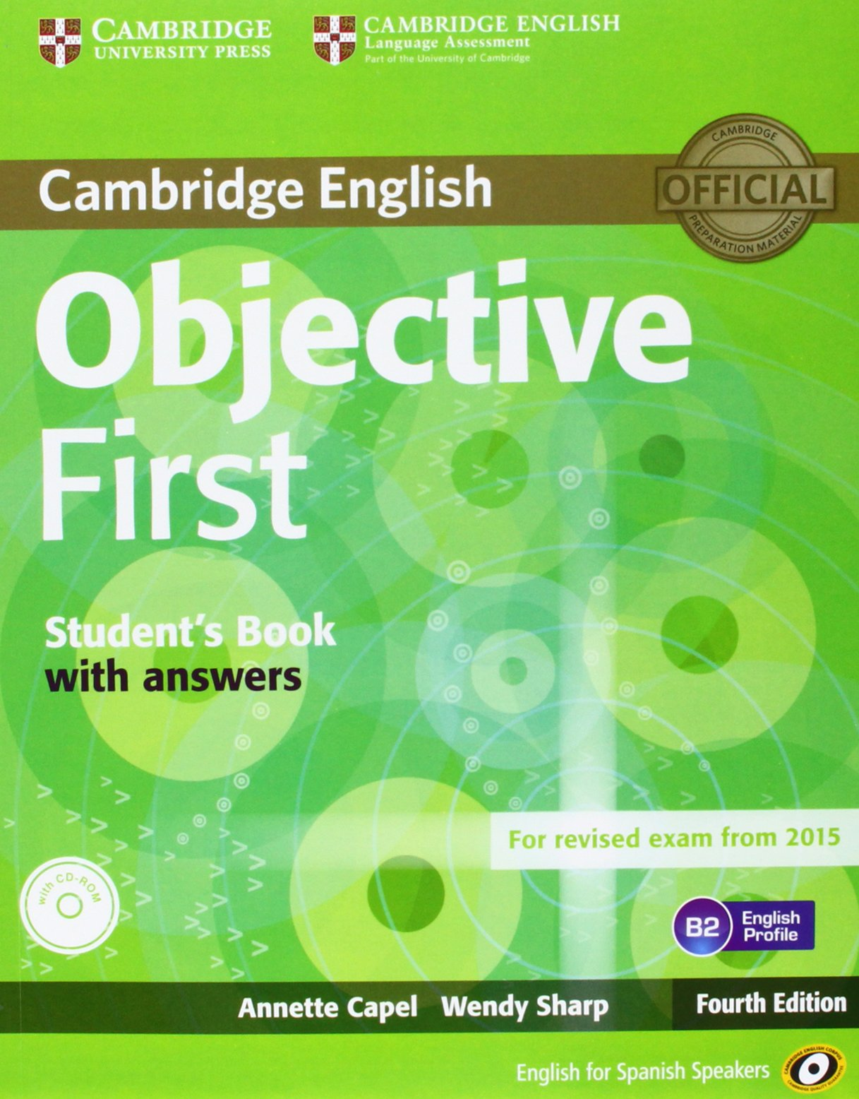 Objective First for Spanish Speakers Students Book with Answers ...