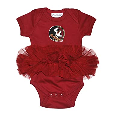 Amazon Com Florida State Seminoles Newborn Infant Tutu Creeper