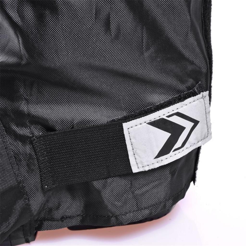 MagiDeal 1 Paar Motorradstiefel Schutzh/ülle Wasserdicht Schuh/überzieher Regenschutz Schuhe Abdeckung Protektor f/ür Motorradfahrer Schwarz L
