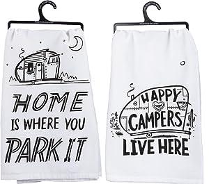 Primitives by Kathy Camper Towel Bundle - Park It and Happy Campers