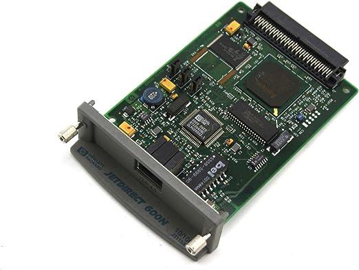 TESTED Genuine OEM HP JetDirect 600N J3110A 10//100 Ethernet Print Server Card