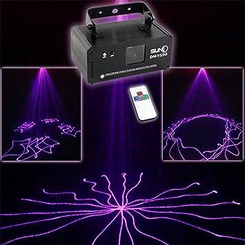 Mini Remote Purple Color Patterns DMX 512 Stage Lighting DJ Dance Party Home Show Projector Lights & Amazon.com: Mini Remote Purple Color Patterns DMX 512 Stage ... azcodes.com