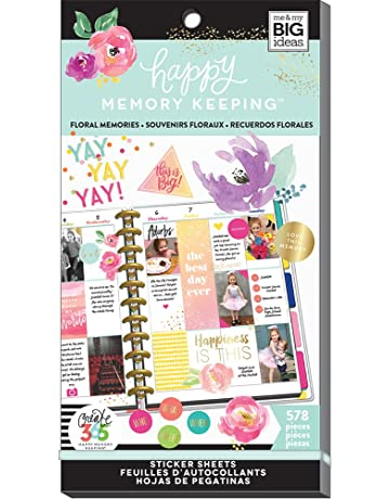 523703c1b17d Me   My BIG ideas The Happy Planner Value Pack Floral 578 Stickers