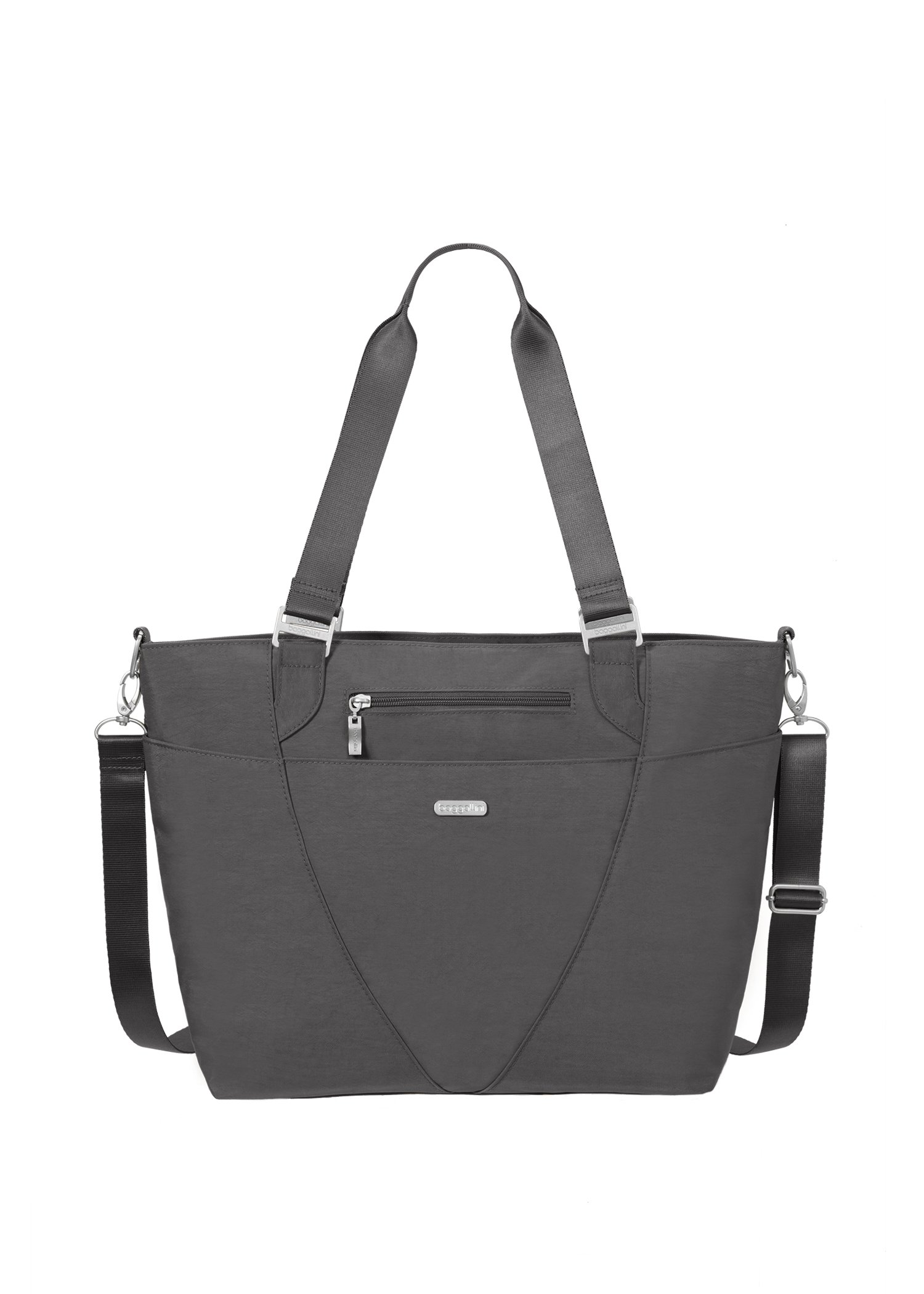 Baggallini Avenue Travel Tote, Charcoal, One Size by Baggallini (Image #1)