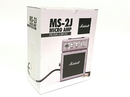 Verstärker - Marshall - Micro Amp.Sonderedition - Silver Jubilee: Amazon.es: Instrumentos musicales