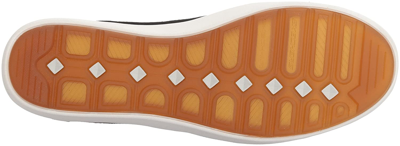Skechers49517 - Comfort Air - Europa - Gored, zum Reinschlüpfen, Turnschuh, Skech-Air-Zwischensohle und Klassische Passform Damen Schwarz