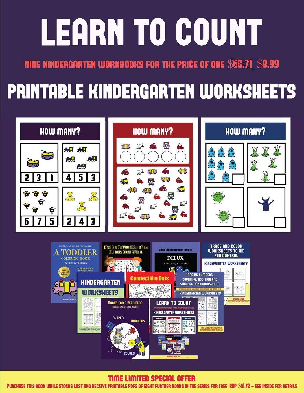 - Printable Kindergarten Worksheets (Learn To Count For Preschoolers