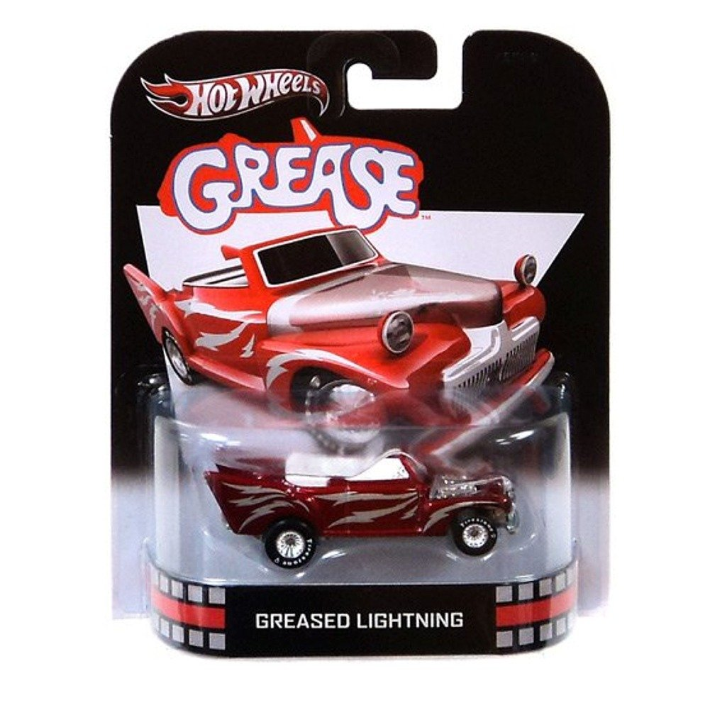 2013 Hot Wheels Retro Entertainment Grease - Greased Lightning by Hot Wheels