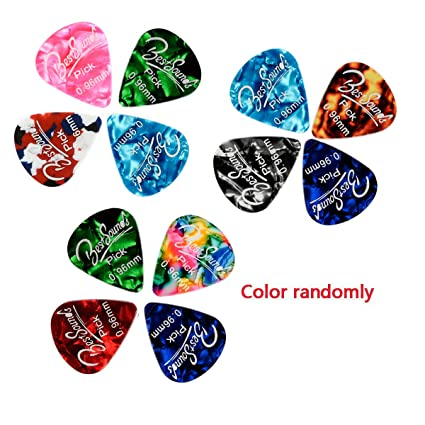 Musical Instruments Learning & Education Celluloid Guitar Picks Sampler Baseball Guitar Plectrums 351 Shape Acoustic Guitar