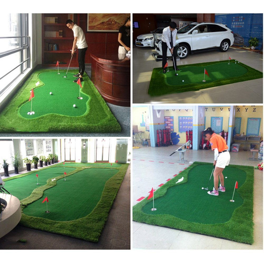 HMX ProEdge Golf Green System Golf Putting Mat---3.28FtX9.84Ft by HMX (Image #6)