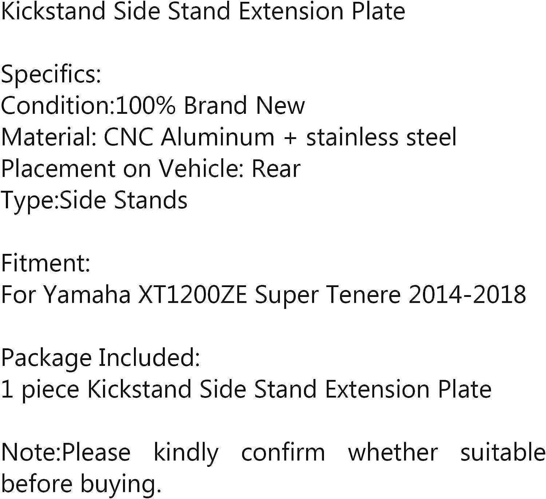 Artudatech Support lat/éral pour moto Yamaha XT1200ZE Super Tenere 2014-2018