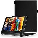 FINTIE Lenovo Yoga Tab 3 PRO 10 Tablet Custodia in Pelle, Slim Fit Folio Case Cover per Lenovo Yoga Tab 3 PRO 10.1 Pollici Tablet - Nero