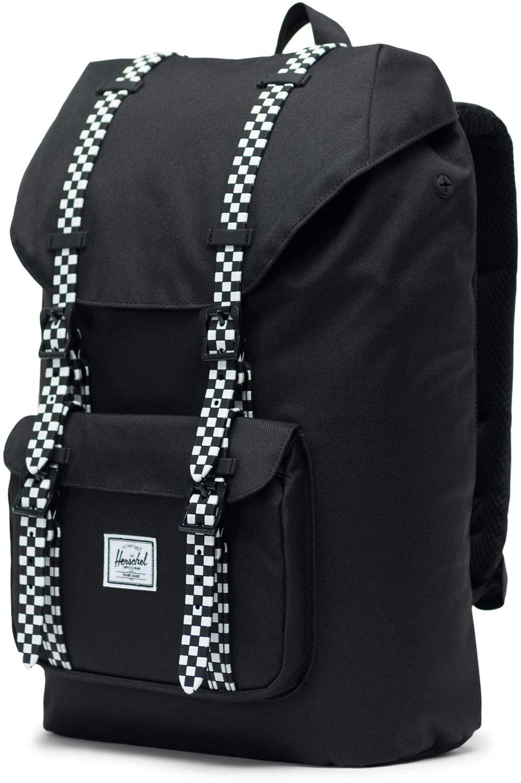 Herschel Little America Mid-Volume Backpack Black/Checkerboard One Size