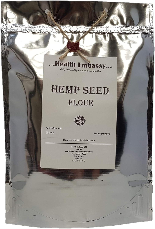 Harina de Cáñamo 450g / Hemp Seed Flour 450g - Health Embassy - 100% Natural