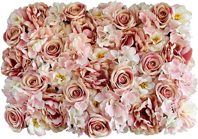 Künstliche Blumenwand Kunstblumen Seidenblumen Hochzeit Hintergrund Dekor