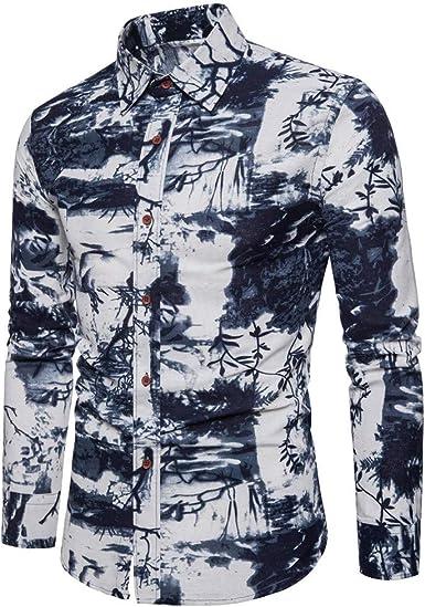 Poachers Camisas Hawaianas Hombre Cerveza Camisas Hombre Manga Larga de Vestir Camisas Hombre Verano Camisetas Hombre Originales Camisas de Hombre Manga Larga: Amazon.es: Ropa y accesorios