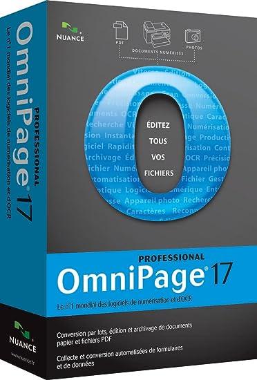 nuance omnipage 17 gratuit