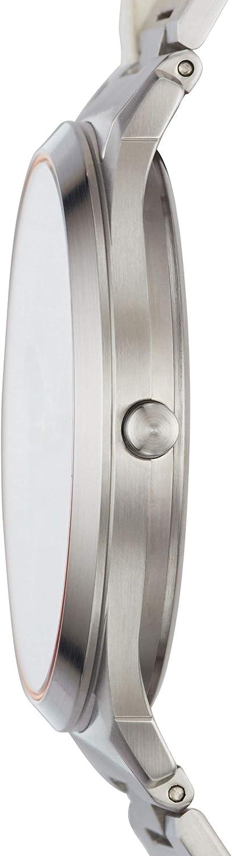 Skagen Men s Jorn Analog-Quartz Watch with Stainless-Steel Strap, Silver, 9 Model SKW6423