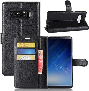 AIOIA Funda Cartera para Samsung Galaxy Note 8 con Varios ...