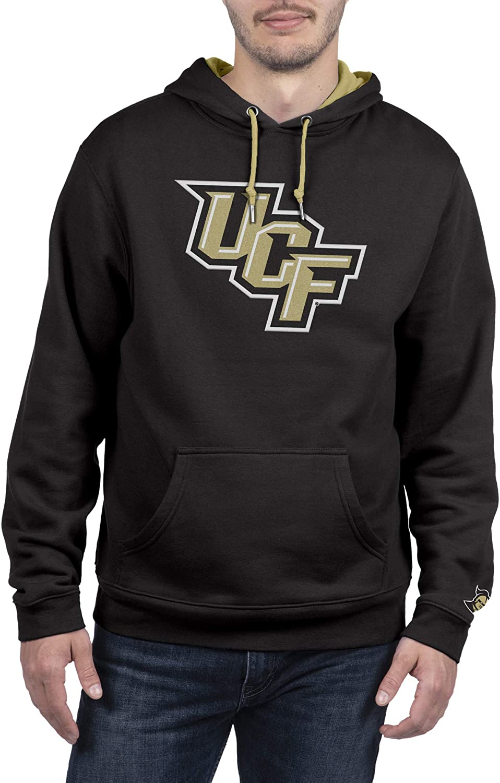 Top of the World NCAA Mens Hoodie Sweatshirt Team Applique Icon