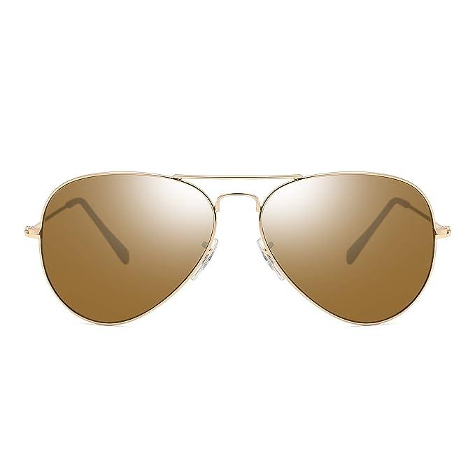 Amazon.com: Gafas de sol clásicas y elegantes de pilotos de ...